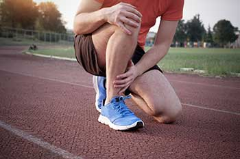 Make Grabbing Ankle on Track